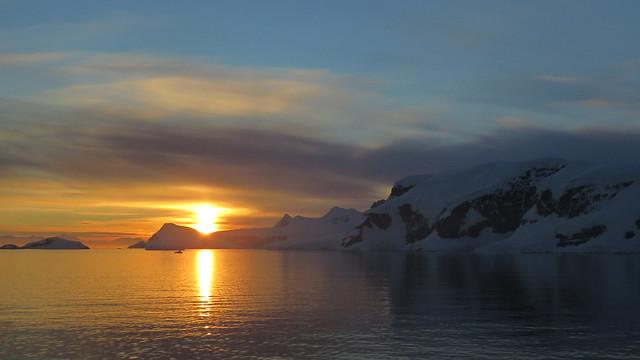 Antartica Midnight Golden Hour