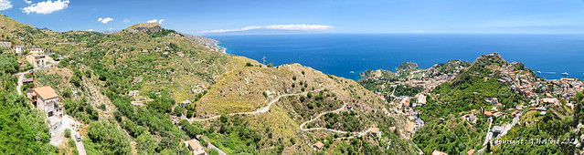 The Hills Above Taormina [Explored]