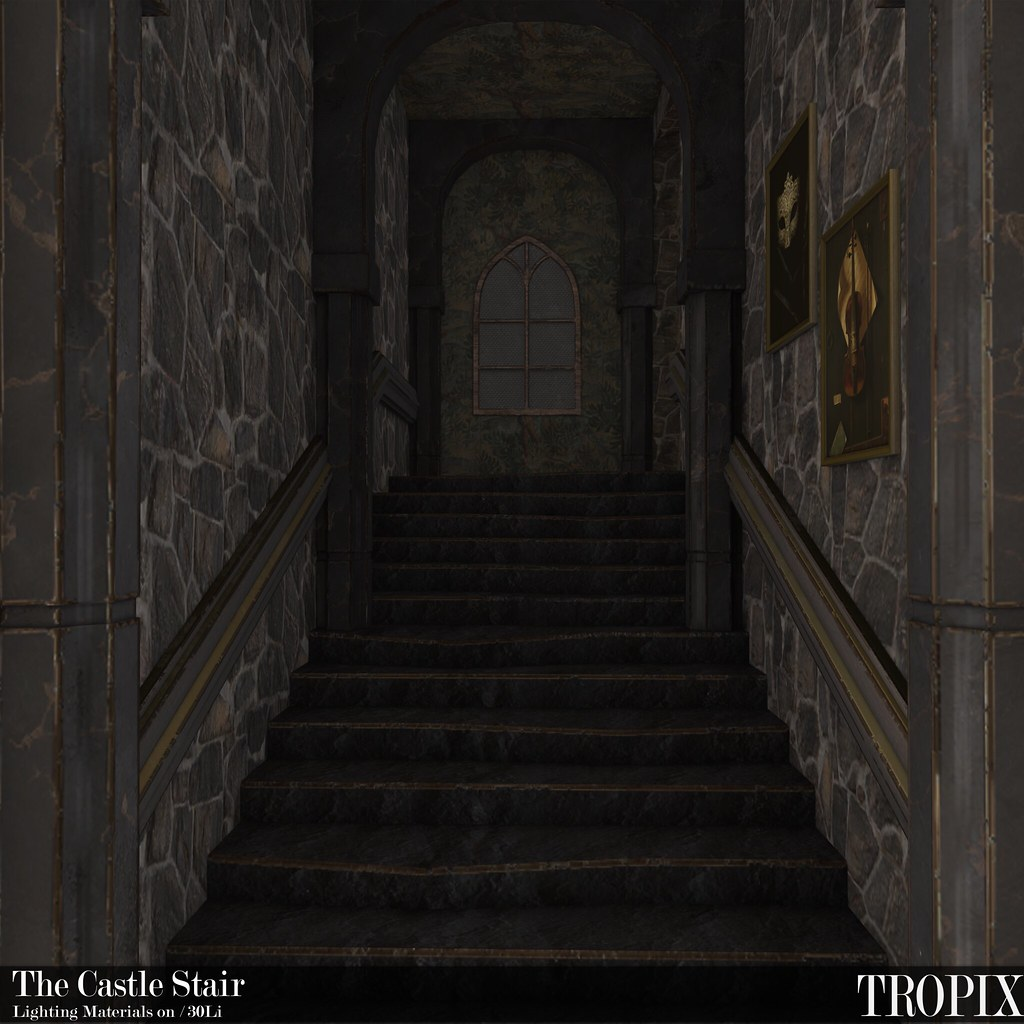 TROPIX // The Castle Stair