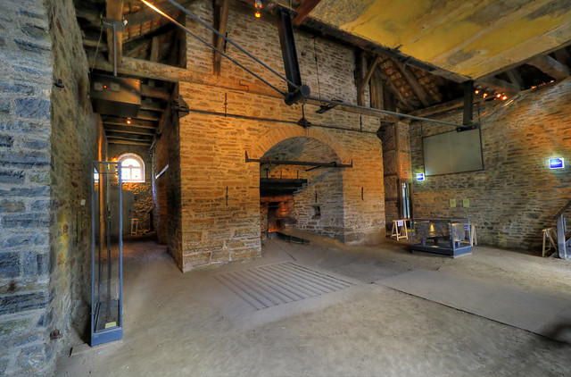 Balve - Luisenhütte Wocklum - Hochofen furnace  01