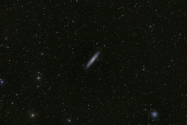 The Sculptor Galaxy and NGC 288