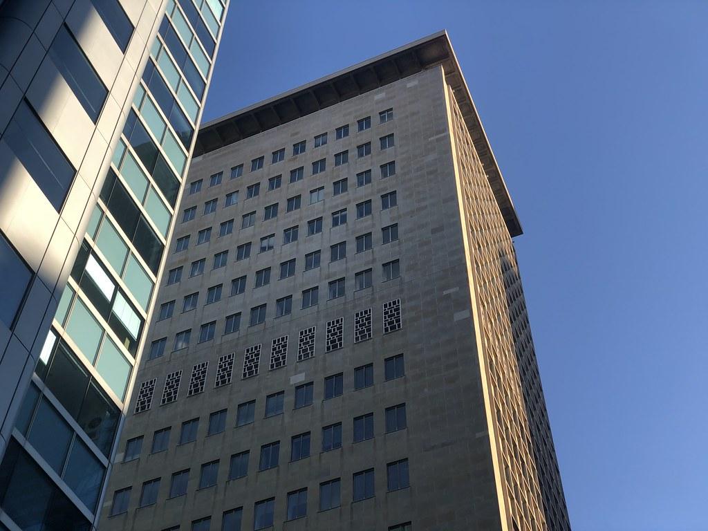The Ornamented, Windowless Mechanical Floor