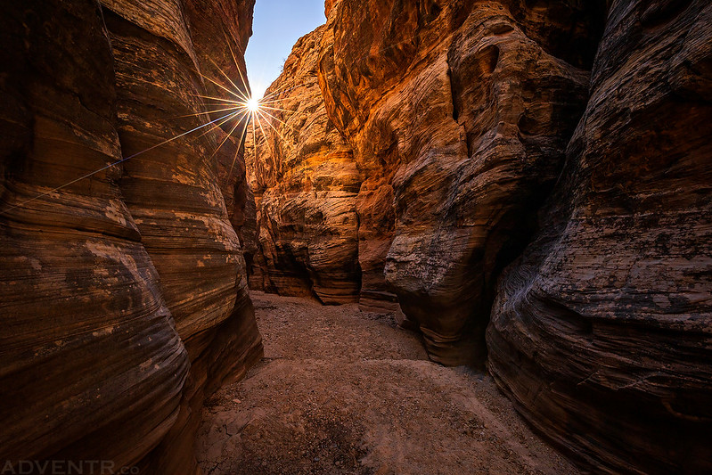 Canyon Narrows Sunstar