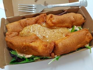 Satay Tofu Salad from The Green Edge
