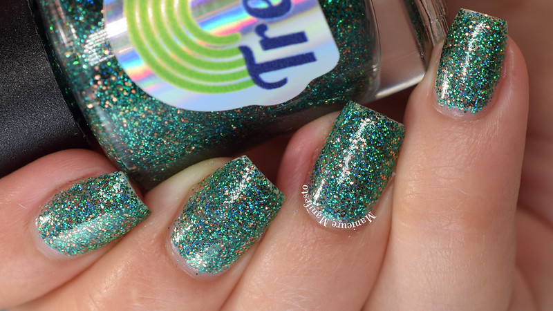 Treo Lacquer Emerald Eyes swatch