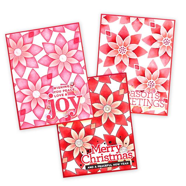 3 cards together