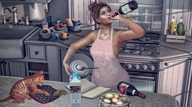 *I cook with wine, sometimes I even add it to the food 'hiccup'* ❤️