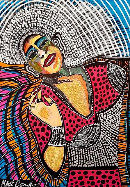 מירית בן-נון ציירת ישראלית אמן מודרני צייר עכשווי אמנות