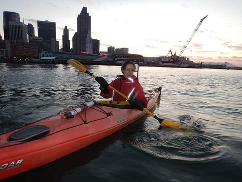 kayaking in San Francisco Bay