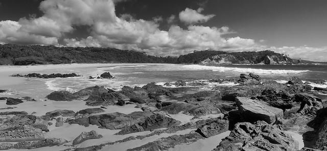 Low tide exposure