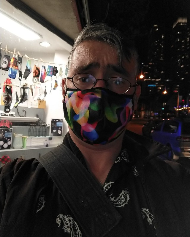 Disappointed masked face #toronto #me #selfie #churchandwellesley #churchstreet #facemask