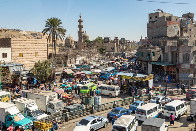 Armchair Traveling - Mosques and Markets in Cairo