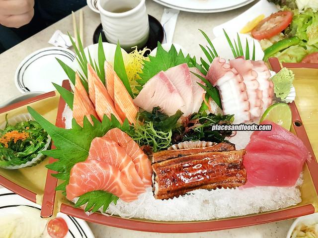 fuji restaurant bangkok sashimi special