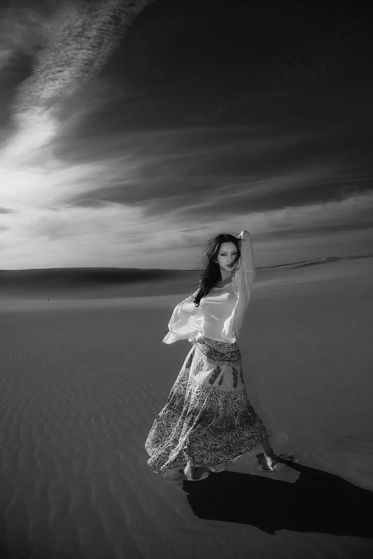 Dunes Monochrome