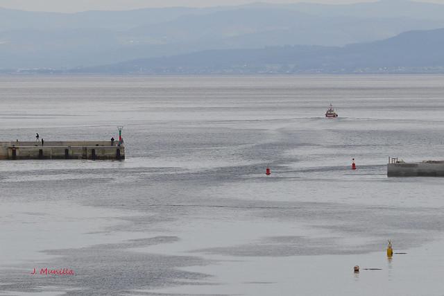 Calma en el puerto Burela MG_1149