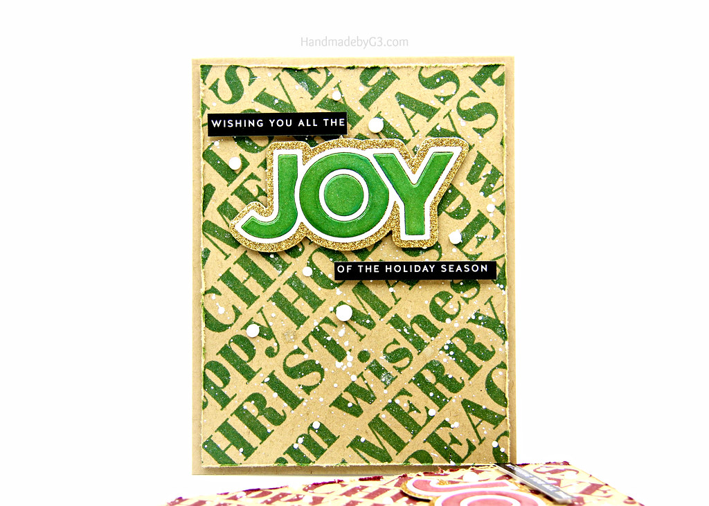 Green Joy card
