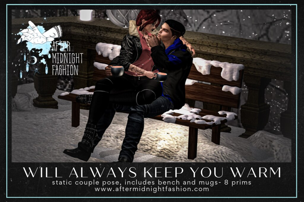 ::AMF:: Will Always Keep You Warm Pose Set AD Large