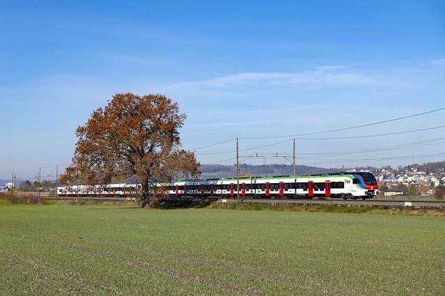 FLIRT TSI von TILO bei Waltenschwil