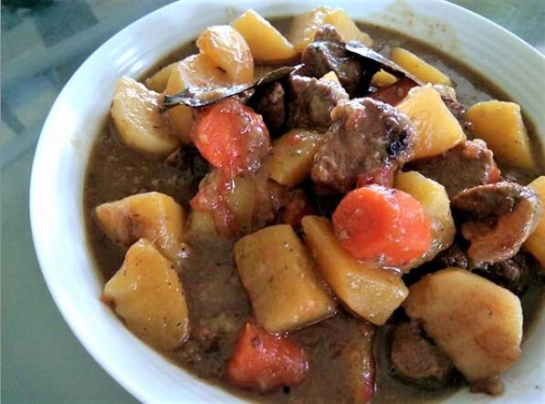 Melissa's beef stew