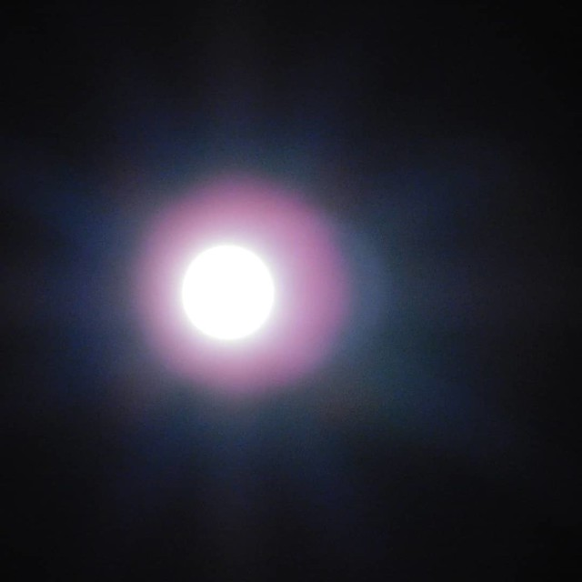 Moon, Halloween night