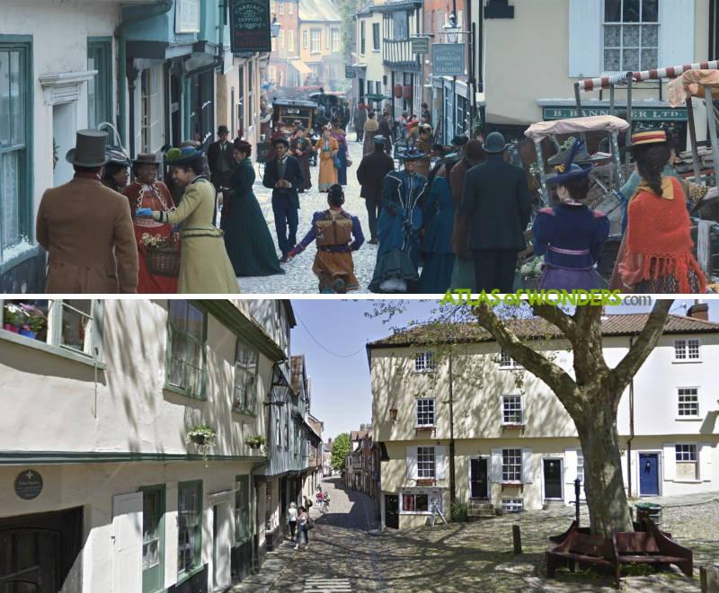 Filming Location in Norwich