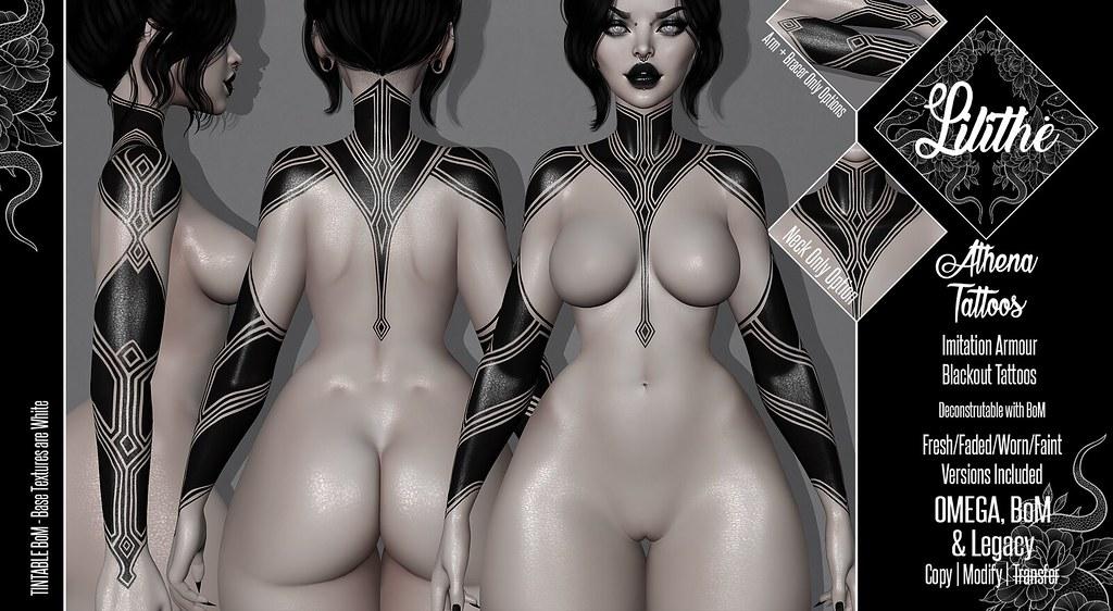 Lilithe'// Athena Tattoos @ Aenigma