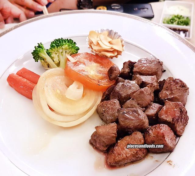 fuji restaurant bangkok special steak