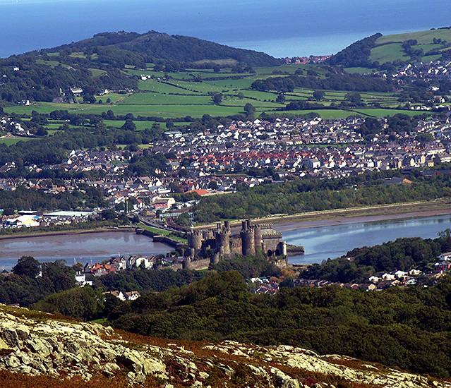 Conwy Castle, Conwy, North Wales - 14.9.2020