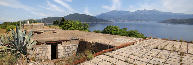 Neglected Fortress on the southernmost point in Croatia