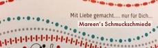 Mareens Schmuckschmiede Banner