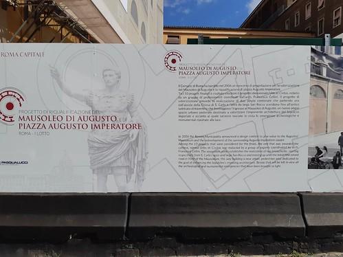 ROMA ARCHEOLOGICA & RESTAURO ARCHITETTURA 2020. Progetto di Riqualificazione del Mausoleo di Augusto / Comune di Roma (03/2020) & Foto: Skyscrapercity.com. [3 PDF e 38 nuove fotografie] (11/2020).
