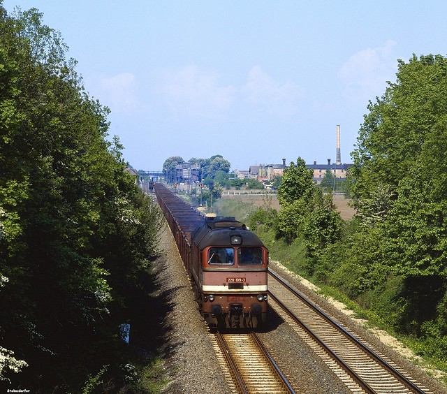 Blick von der Feldwegbrücke