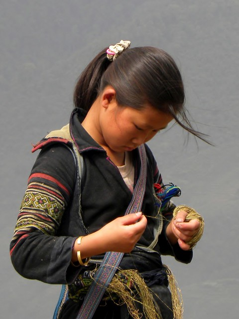 The Girl with the Golden Thread