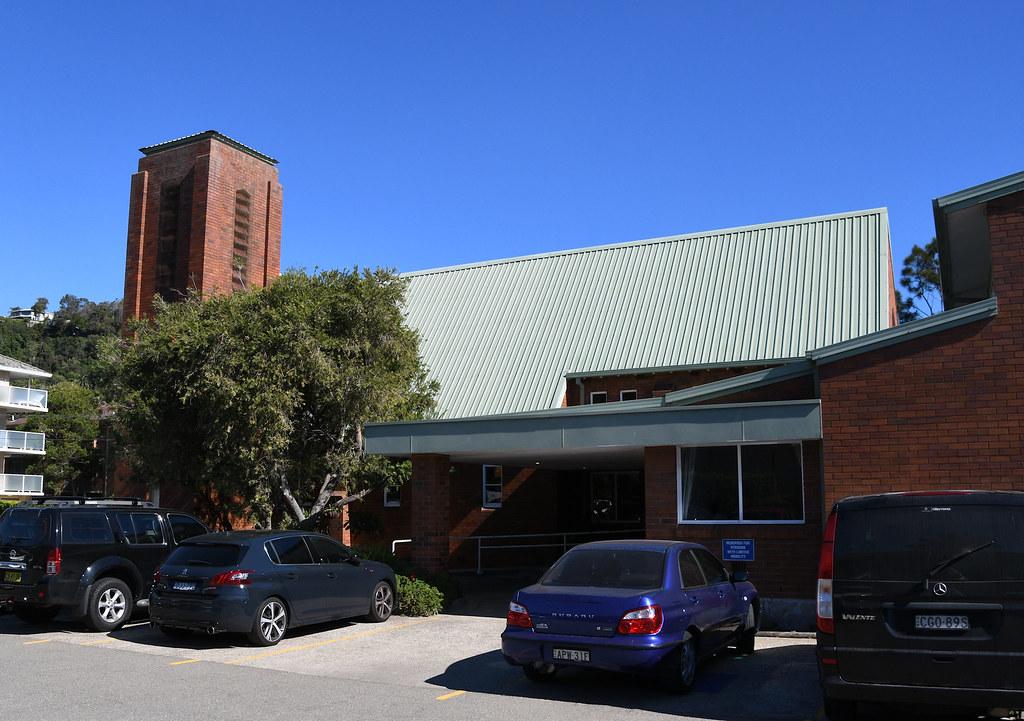 St Faith's Anglican Church, Narrabeen, Sydney, NSW.