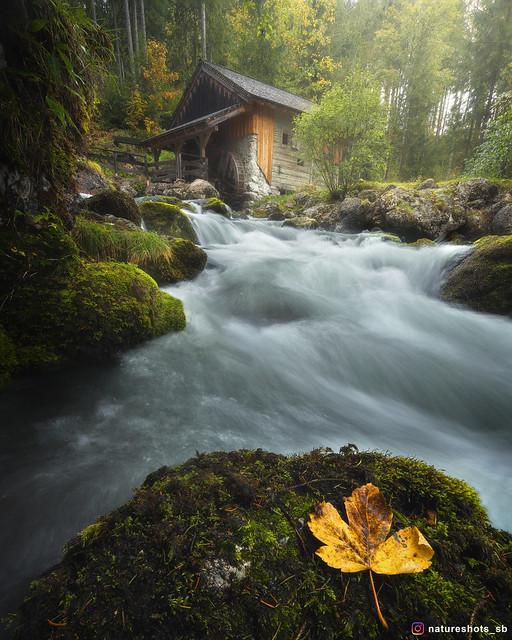 Gollinger Wasserfall Fluss