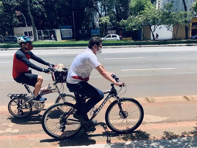 Bicicletada por São Paulo Foto Filipe Araújo