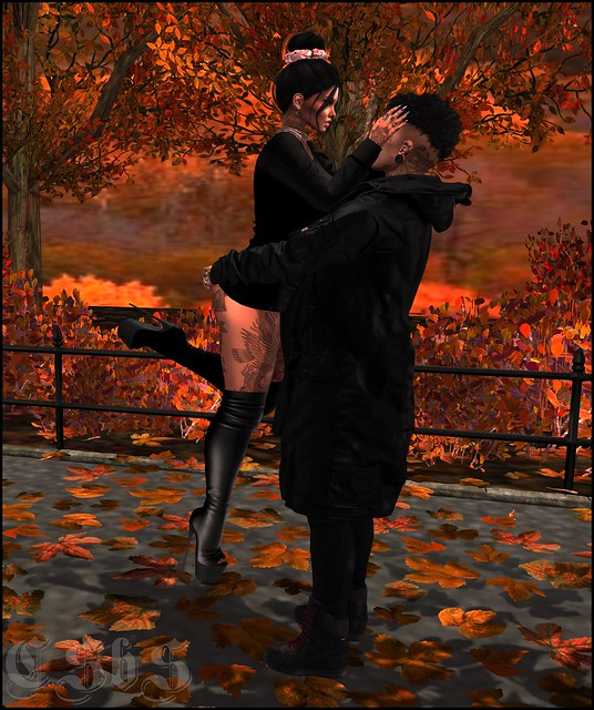 YoU By GeMyles Raelynn Dress and Boots + [Struts Poses] – Fall Love
