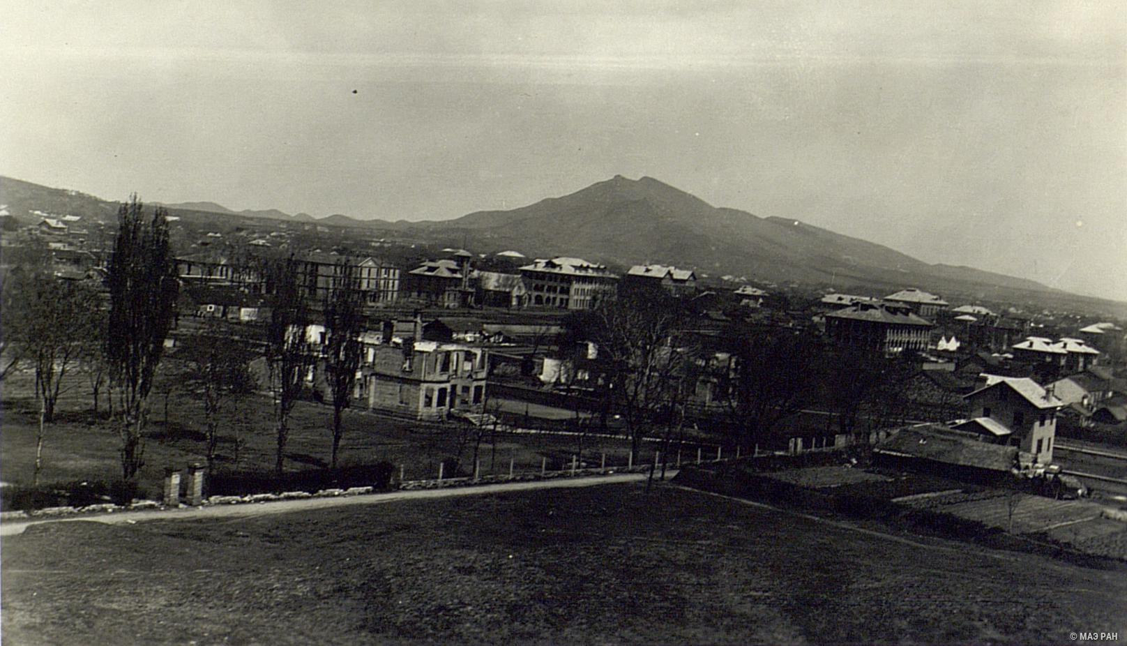 Общий вид иностранного поселения в Нанкине после занятия его повстанцами