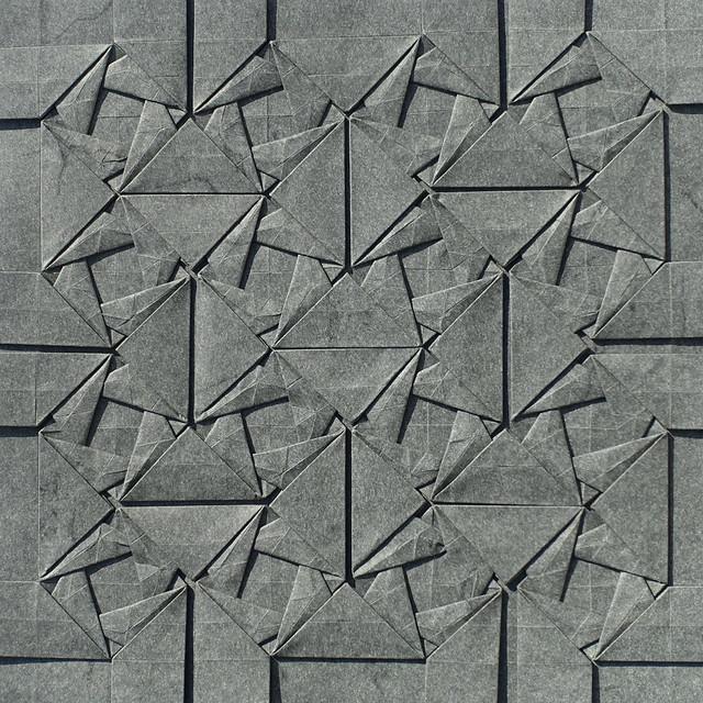 Woven Triangles Tessellation III (symmetric)