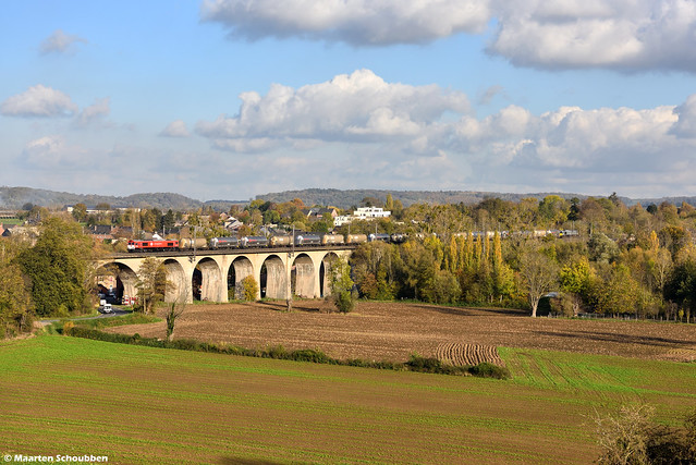 DE6302 @ Viaduct Berneau