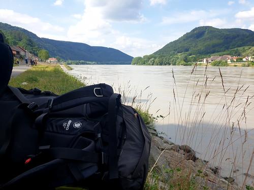 Die Donau entlang