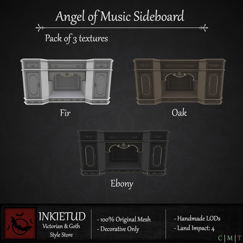 Angel of Music Sideboard
