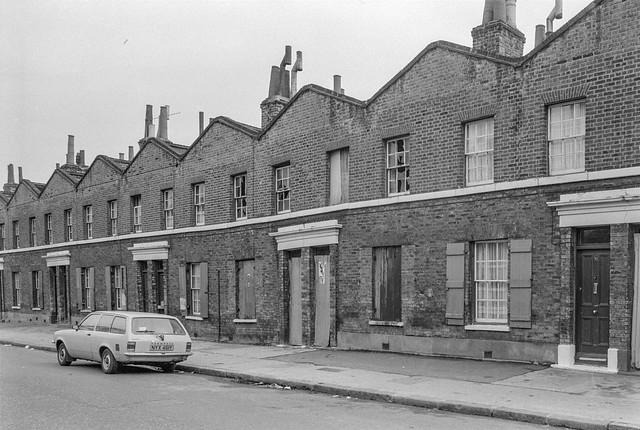 Page's Walk, Bermondsey, Southwark, 1985 85-3h-42_2400