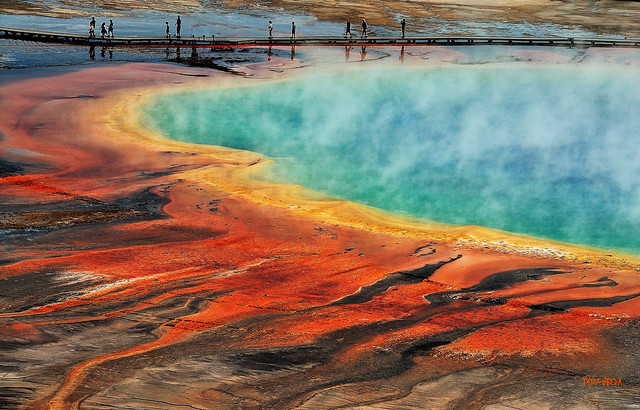 American West --  Fascinating  // Grand Prismatic Spring - Yelowstone - Wyoming