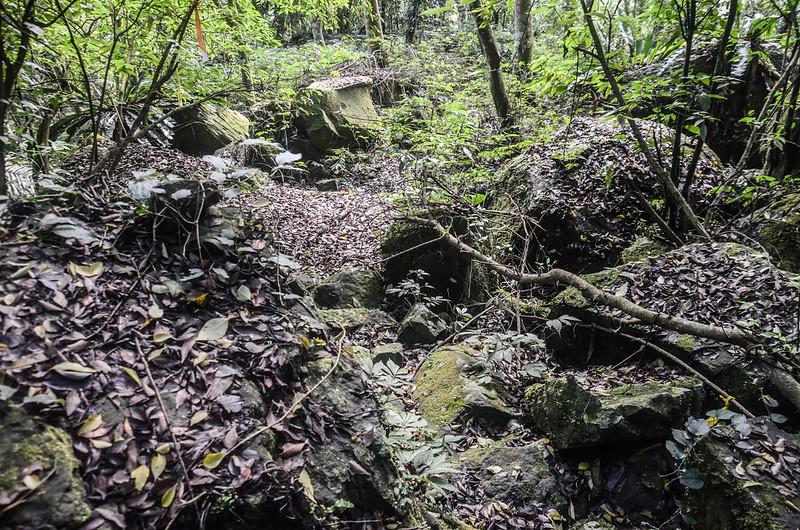 小東河山山徑亂石段