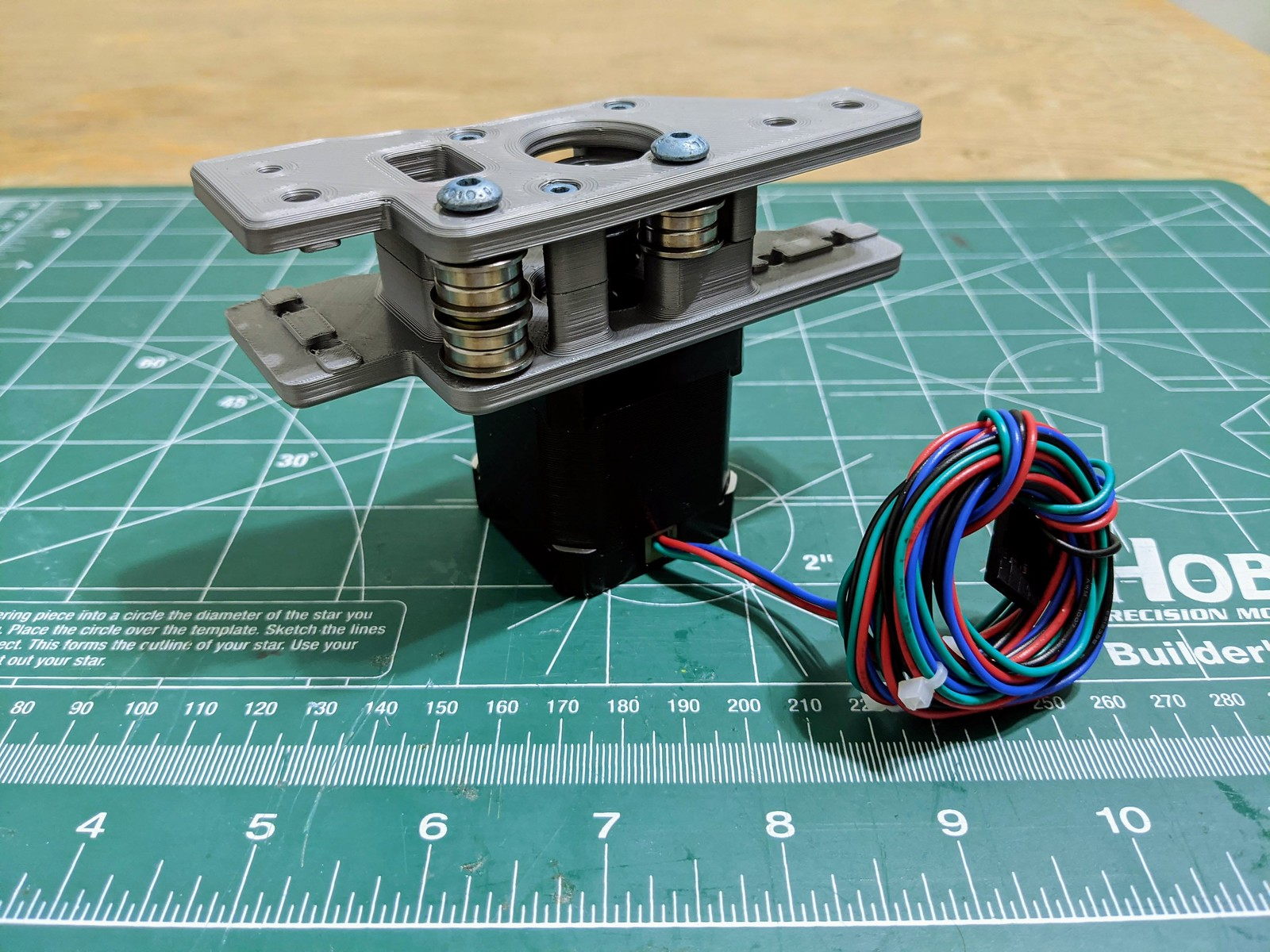 Voron v1.8. Right side motor mount