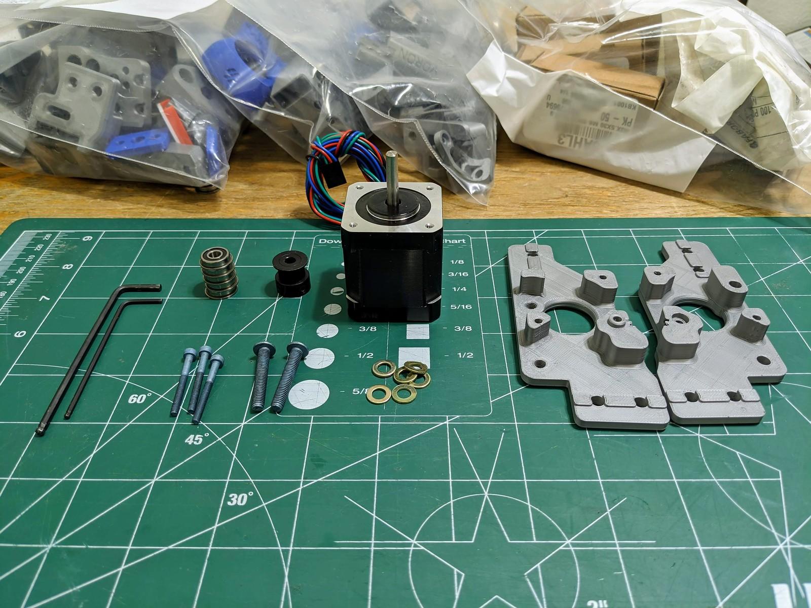 Voron v1.8. Motor mount