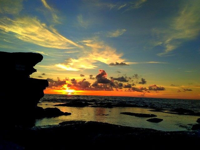 Sunset View OF Tanah Lot