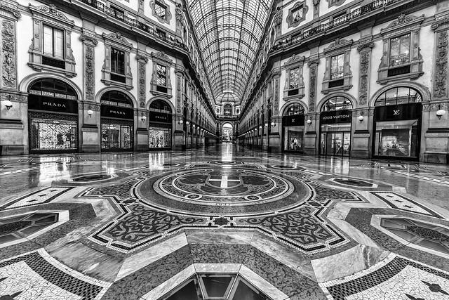 Milano la galleria