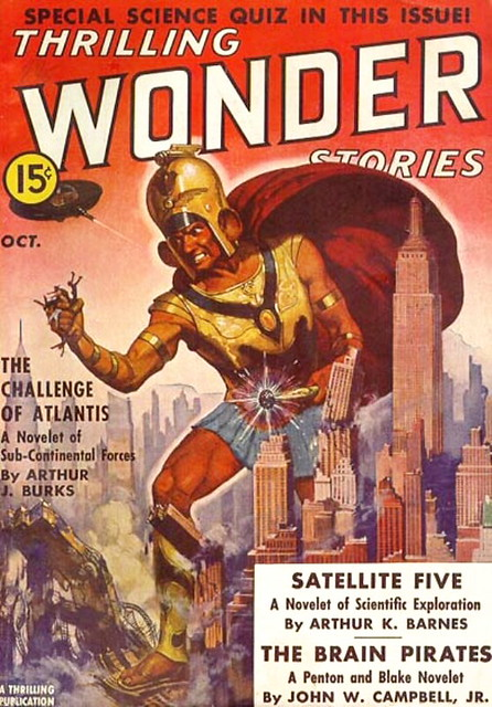 Thrilling Wonder Stories / October 1938